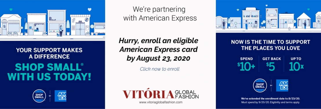 AMEX Shop Small Banner