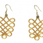 Golden Grass Delhi Earrings