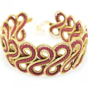 woven Golden grass bracelet