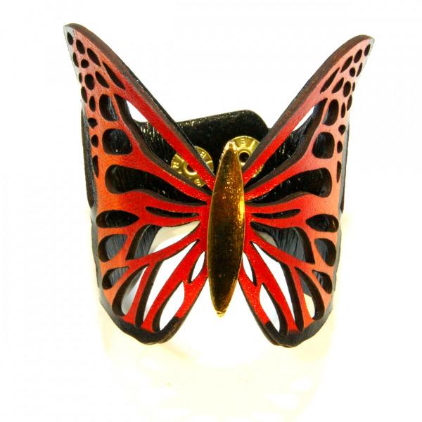 orange monarch bracelet