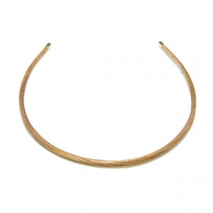 golden grass headband with thin band