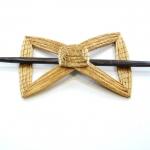 bow tie barrette