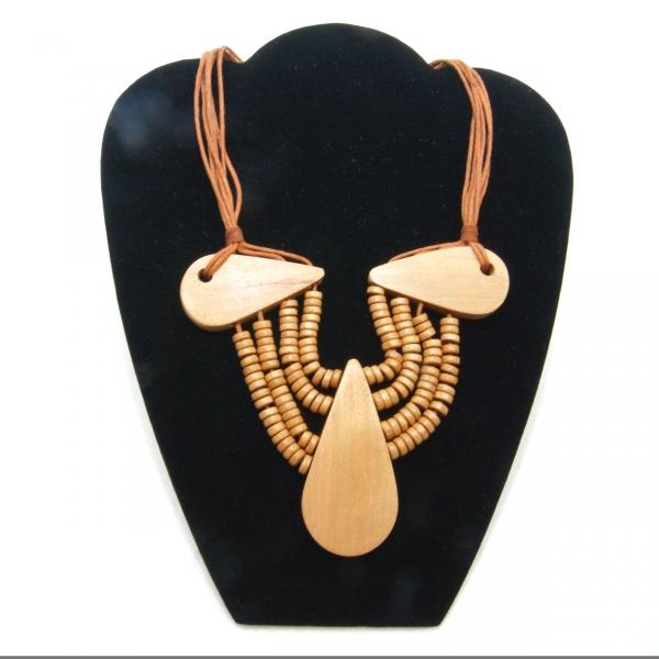 light wood and bead